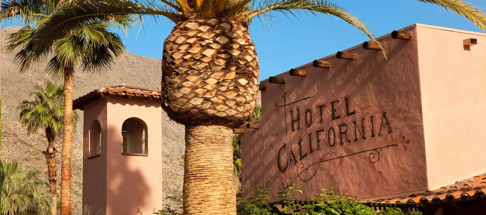 Hotel California exterior